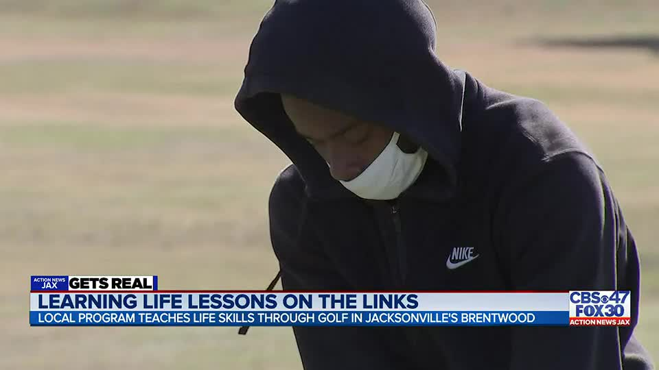 Action News Jax Get's Real: Jacksonville golf organization teaches Brentwood youth skills beyond the course