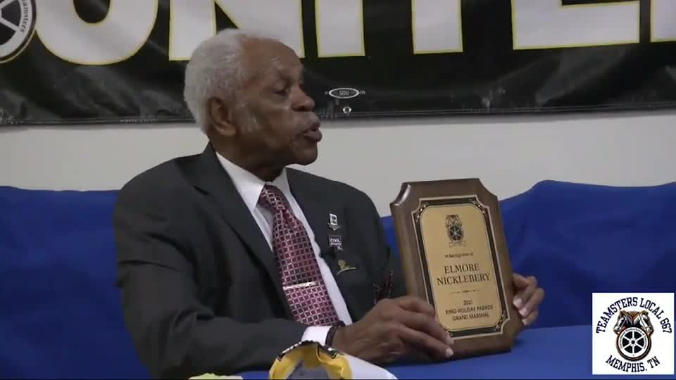 Elmore Nickleberry, who marched alongside Dr. Martin Luther King, honored by NCRM
