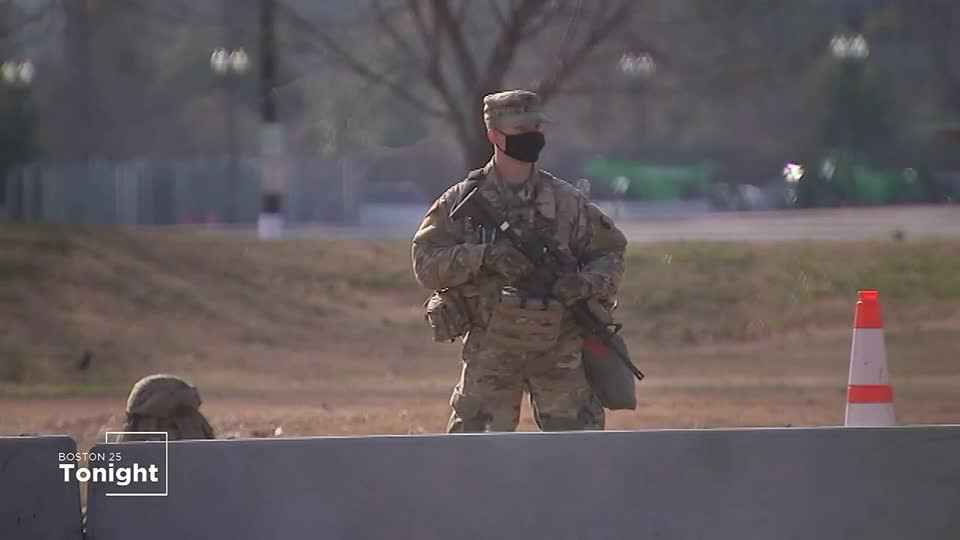 25,000 national guard troops, huge show of force ahead of Wednesday's Inauguration