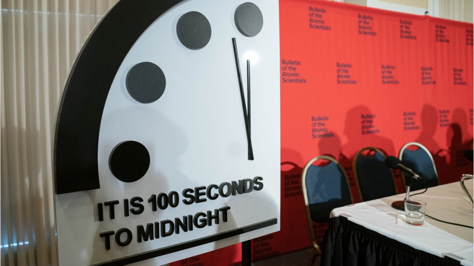Doomsday Clock Moves Closer Than Ever To Midnight