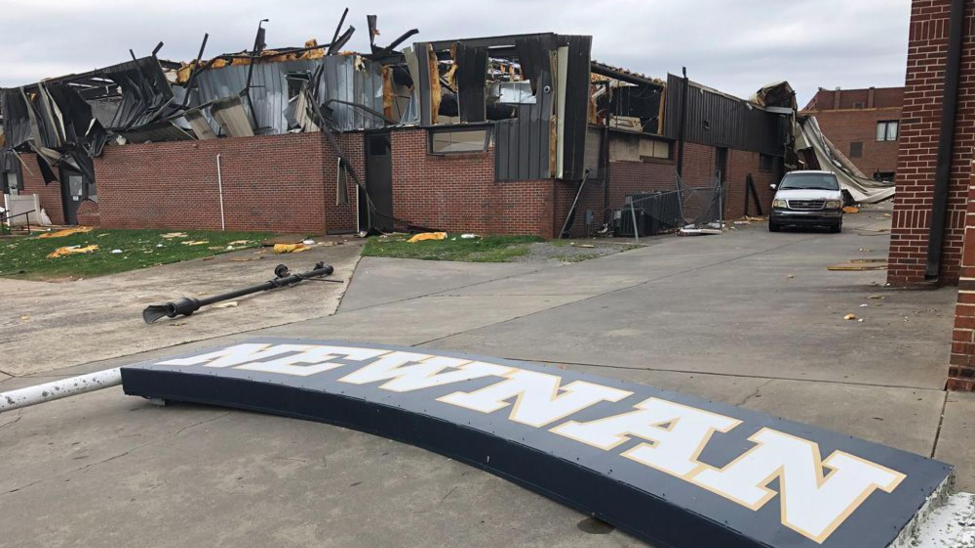 Falcons QB Matt Ryan surprises Newnan football with $25,000 donation to rebuild after tornado