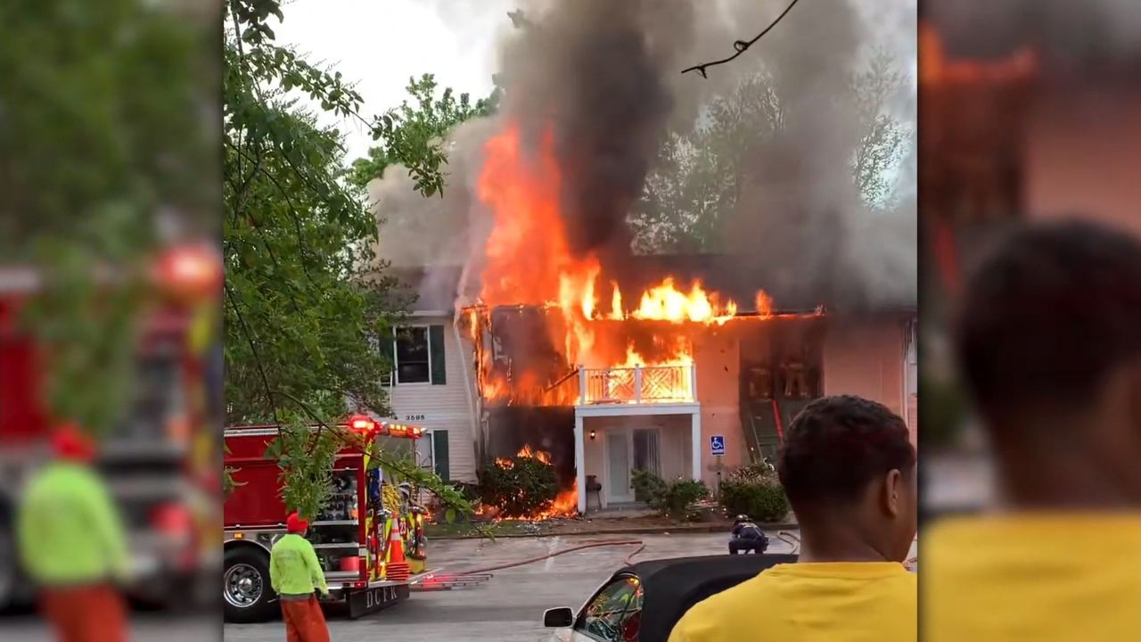 Several families lose everything in devastating condo fire in Tucker