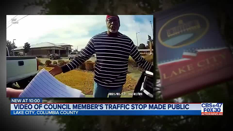 'Why are you so hostile?': Bodycam video made public from Lake City councilman traffic stop