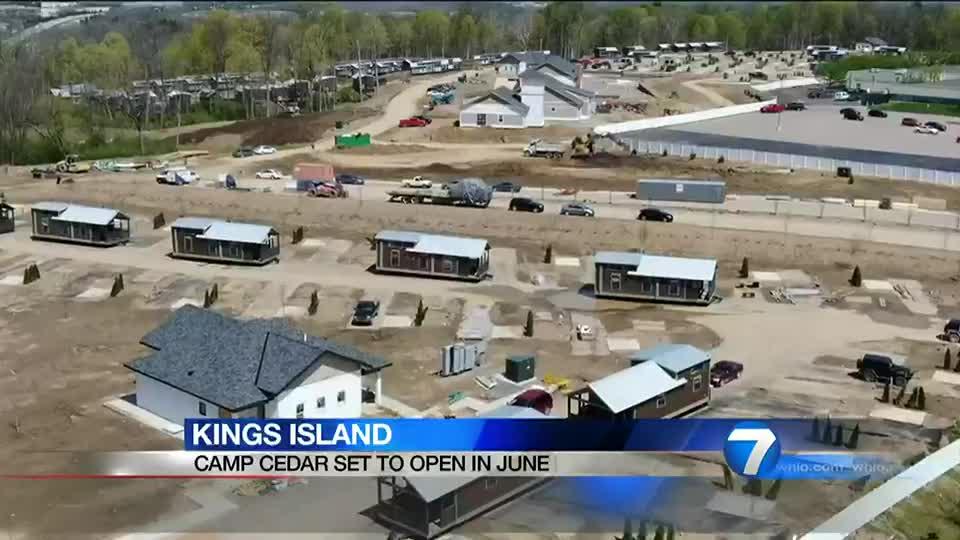 Kings Island Camp Cedar set to open in June