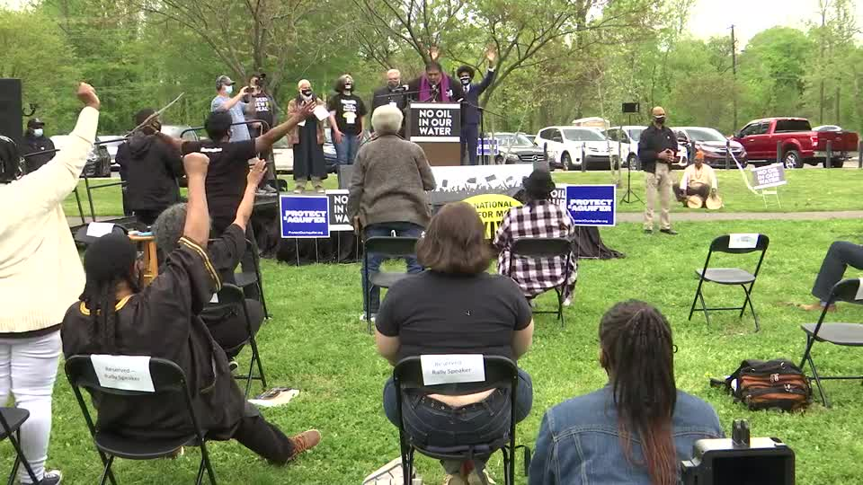 Memphis Community Against Pipeline host rally opposing Byhalia Pipeline