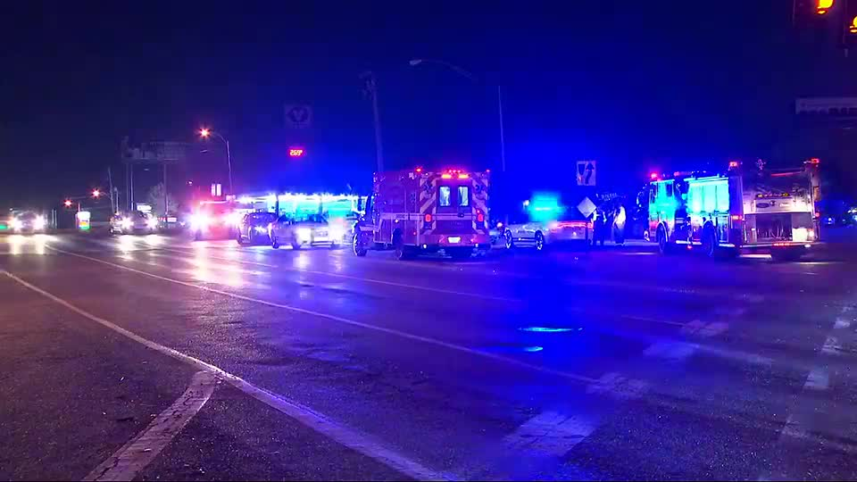 MPD officer hit by car while investigating crash, police say