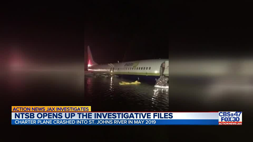 NTSB releases public report for plane that crashed into St. Johns River in 2019