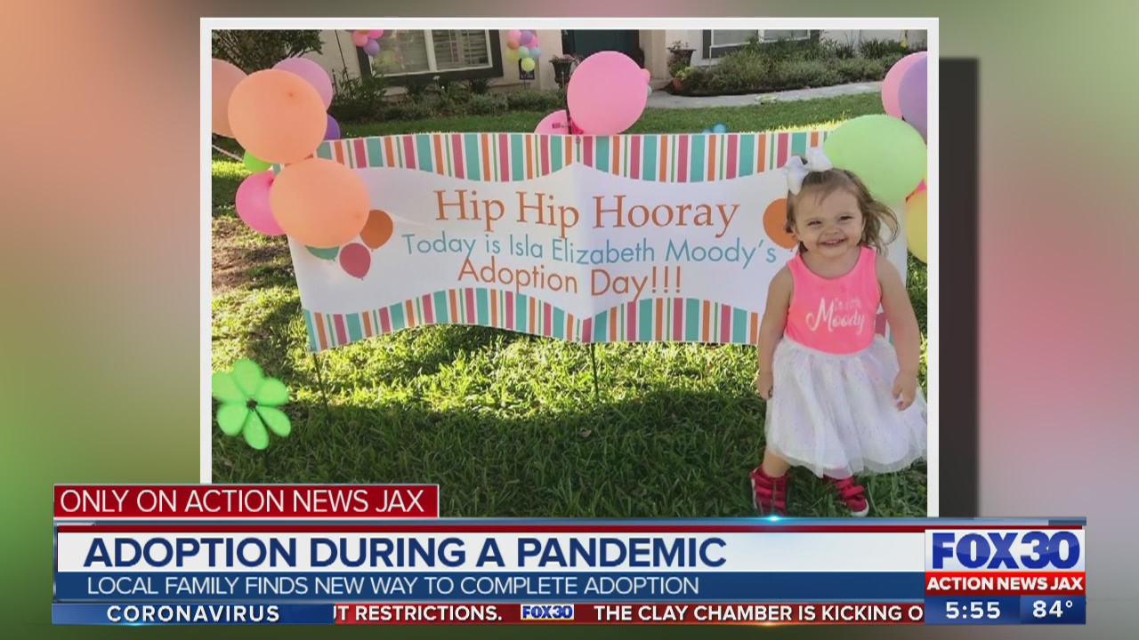 Jacksonville 2 Year Old Girl Adopted After 700 Days In Foster Care