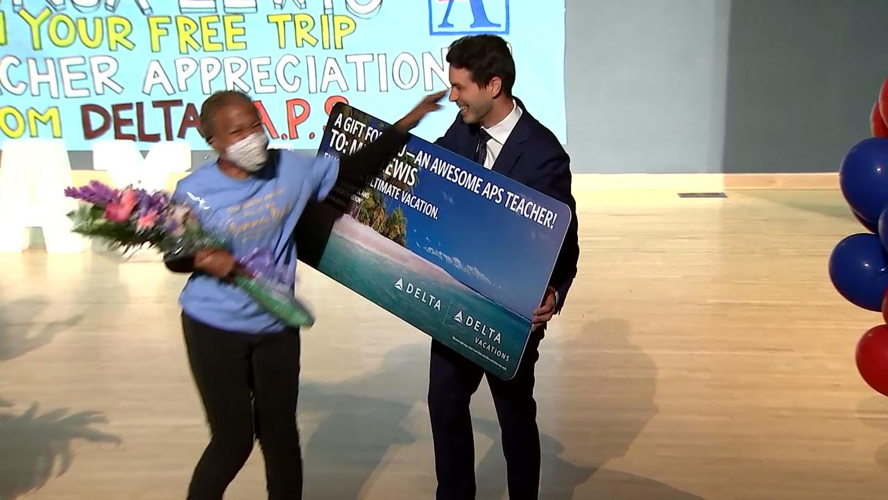 Delta surprises nine metro educators with free trips
