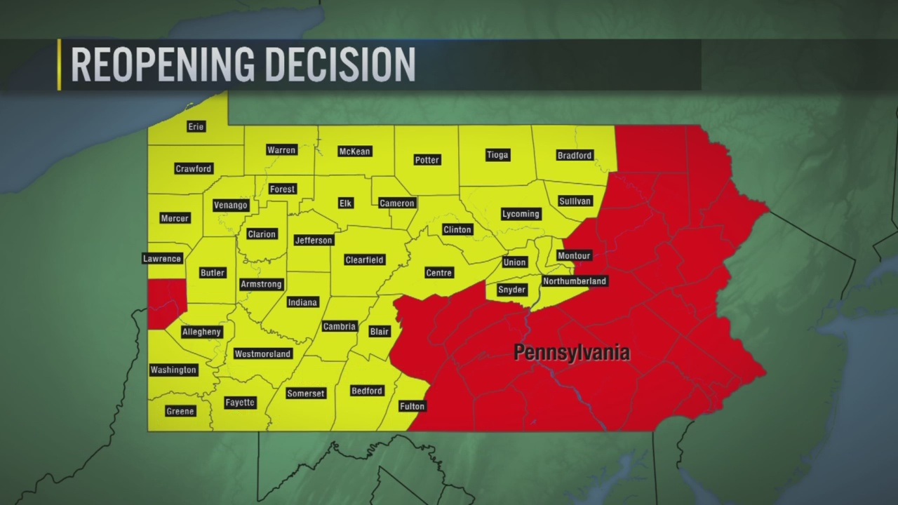 Image of: Timeline All Southwest Counties Except For Beaver To Move Into Yellow Phase