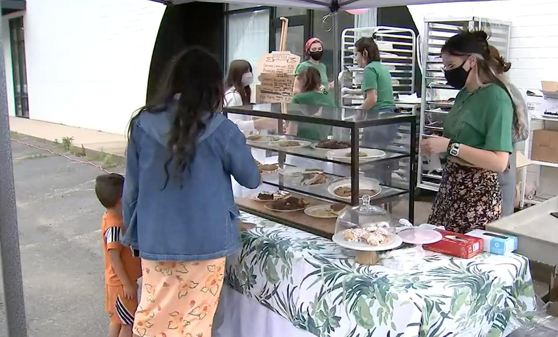 West Charlotte bakery opens pop-up after damaged in November flash floods