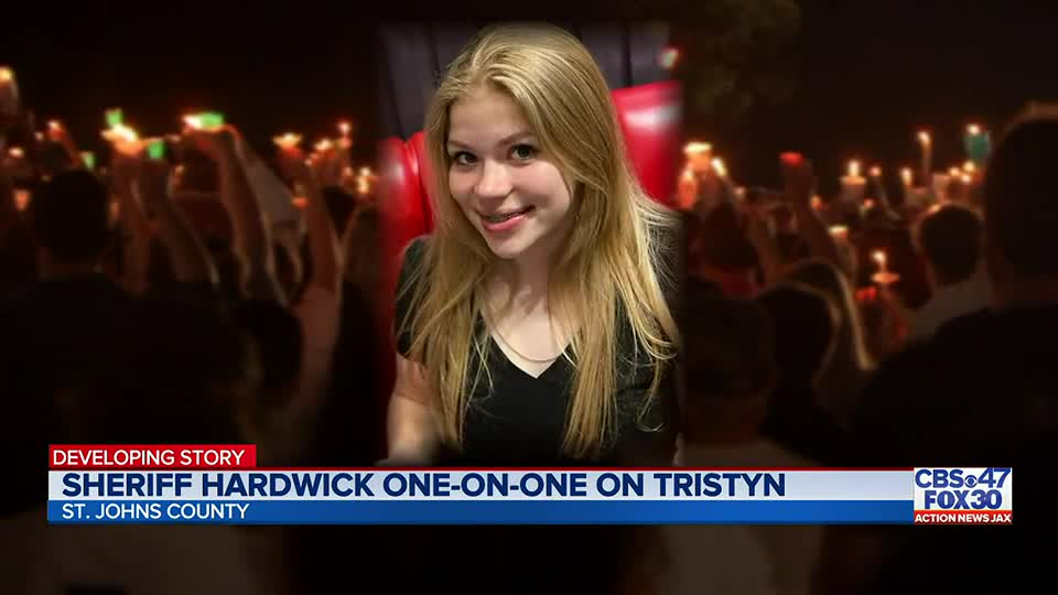 New details into Tristyn Bailey's murder investigation in one-on-one with SJC Sheriff Hardwick