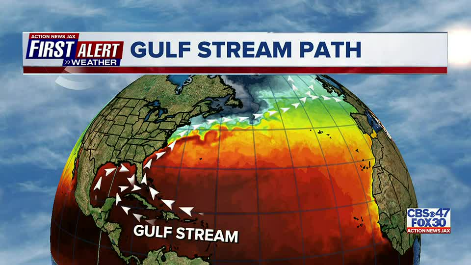 Research shows Gulf Stream is slowing down