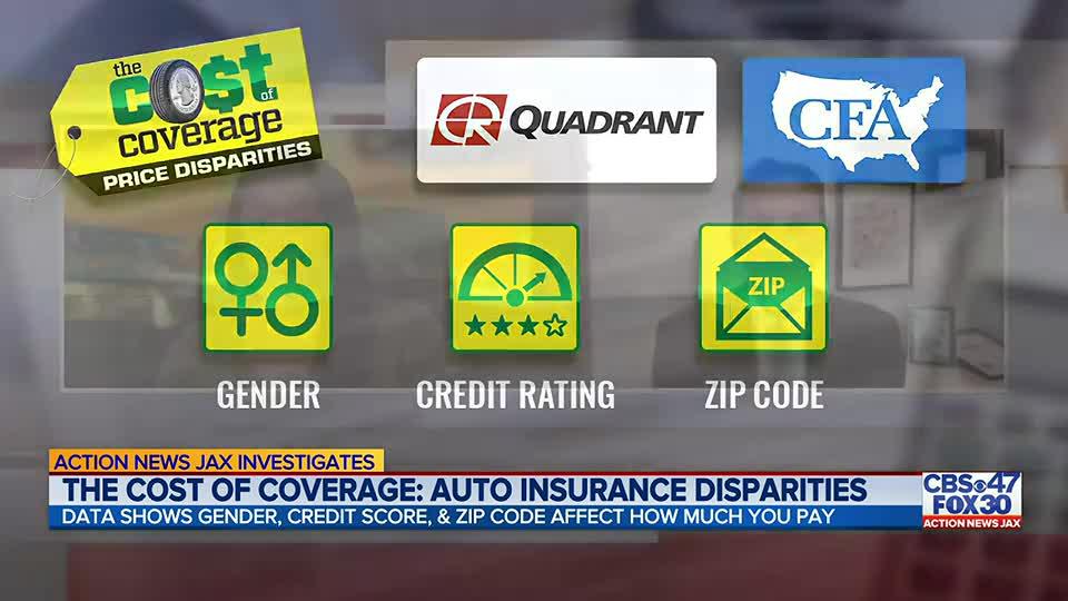 Action News Jax Investigates: Disparities in auto insurance pricing in Florida