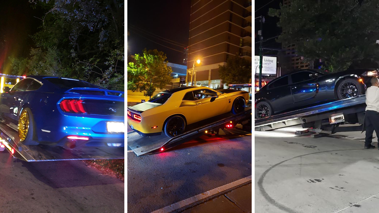 Apd Cracks Down On Illegal Street Racing Reckless Driving With Major Operation
