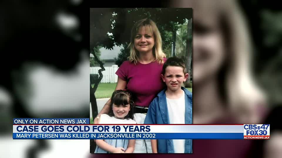Jacksonville mother Mary Petersen killed nearly 19 years ago