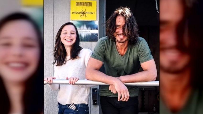 Daughter of Soundgarden's Chris Cornell breaks down barriers around mental health