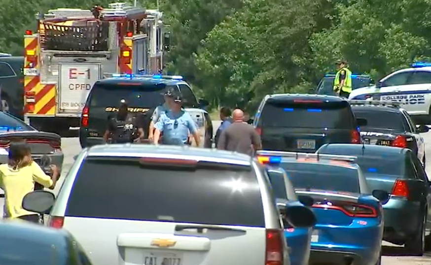 Murder suspect shot, killed by GSP trooper following chase, shootout