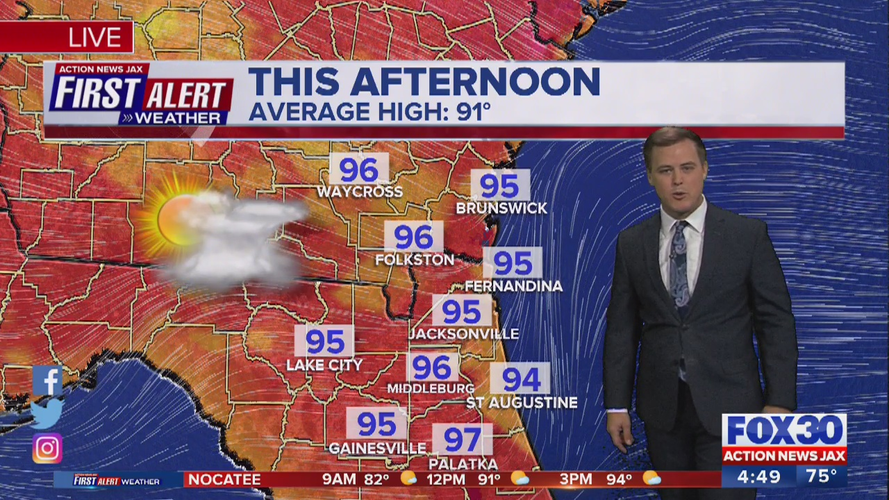 First Alert Weather: Hot, humid Monday