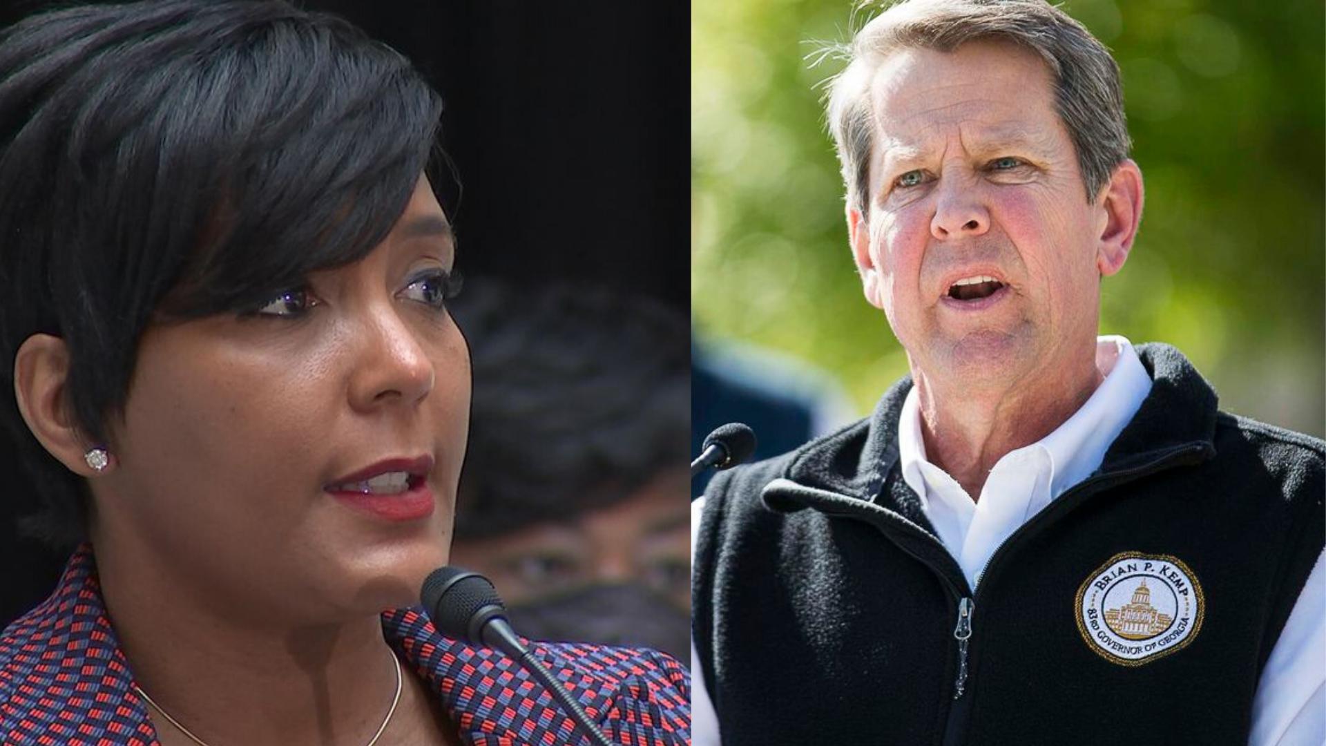 Mayor rolls back Atlanta's reopening plan from Phase 2 to Phase 1