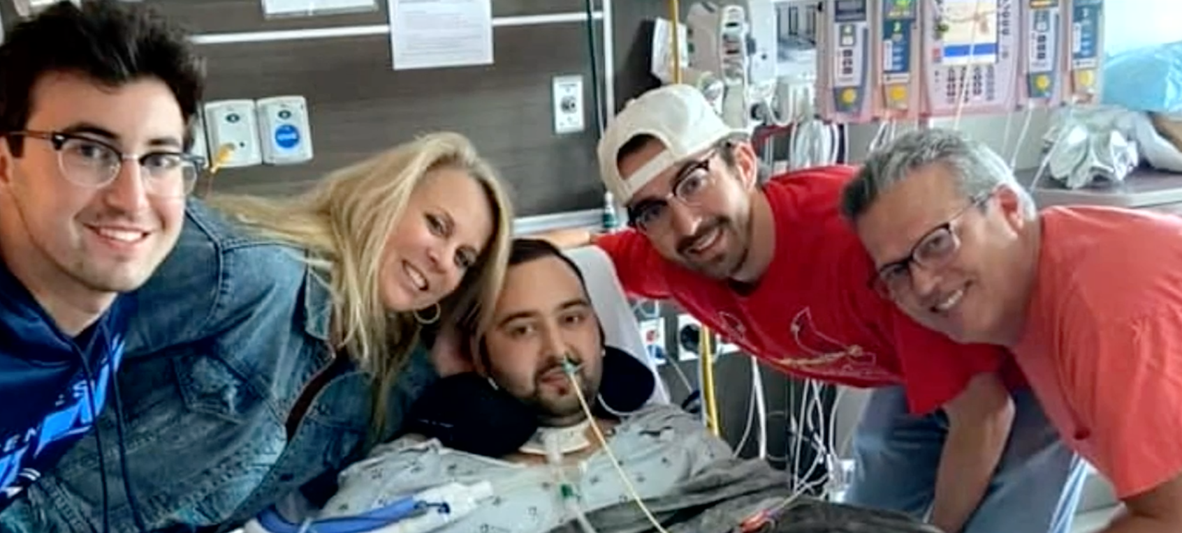 Photo of 'He wished he had gotten the vaccine:' Local man battling COVID-19 from ICU for months