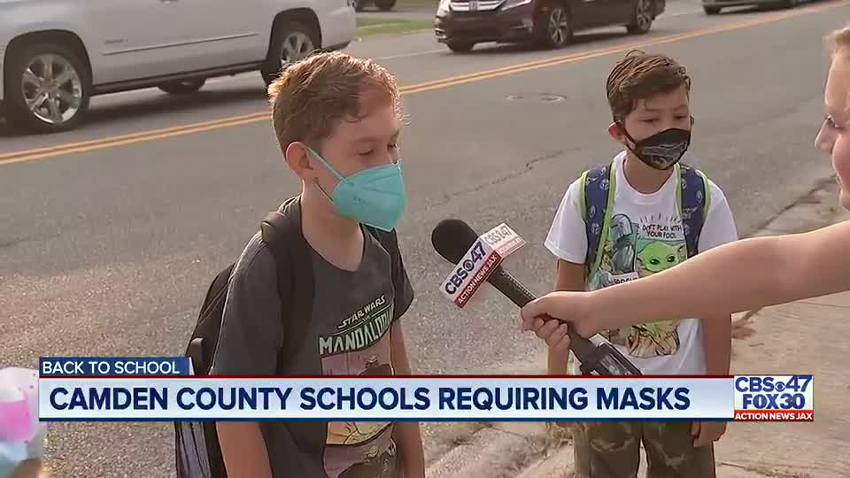 Camden County schools begin the new school year, masks required for everyone
