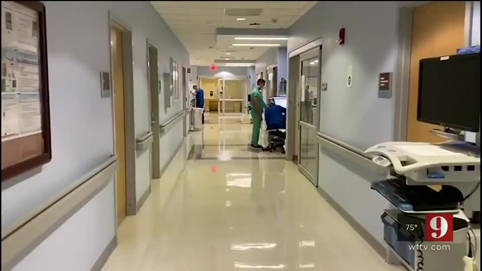 Florida doctors say COVID-19 hospitalizations appear to be declining