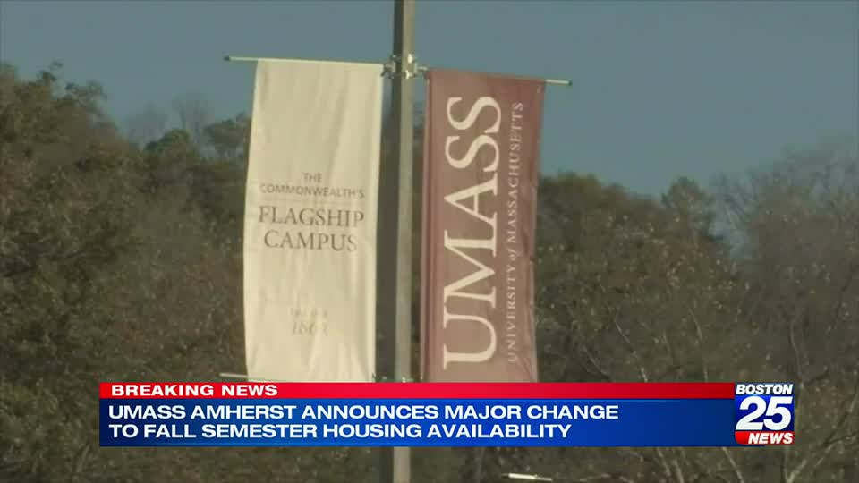 UMass Amherst students learning remote-only in the fall won't be granted on-campus housing