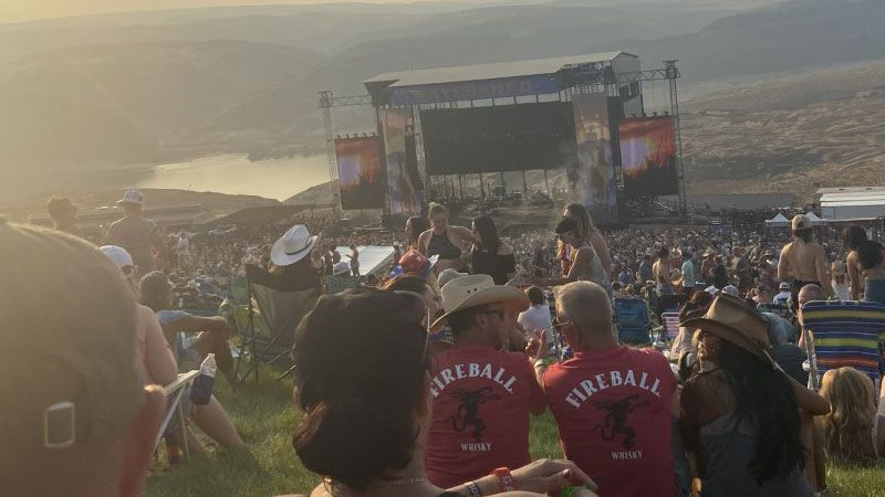 Health officials recommend people who attended Watershed Music Festival get tested for COVID-19