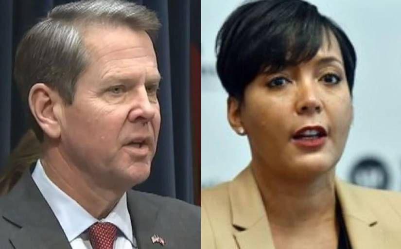 Atlanta mayor calls Kemp's ban on mask, vaccine mandates at businesses 'political theater' - WSB Atlanta