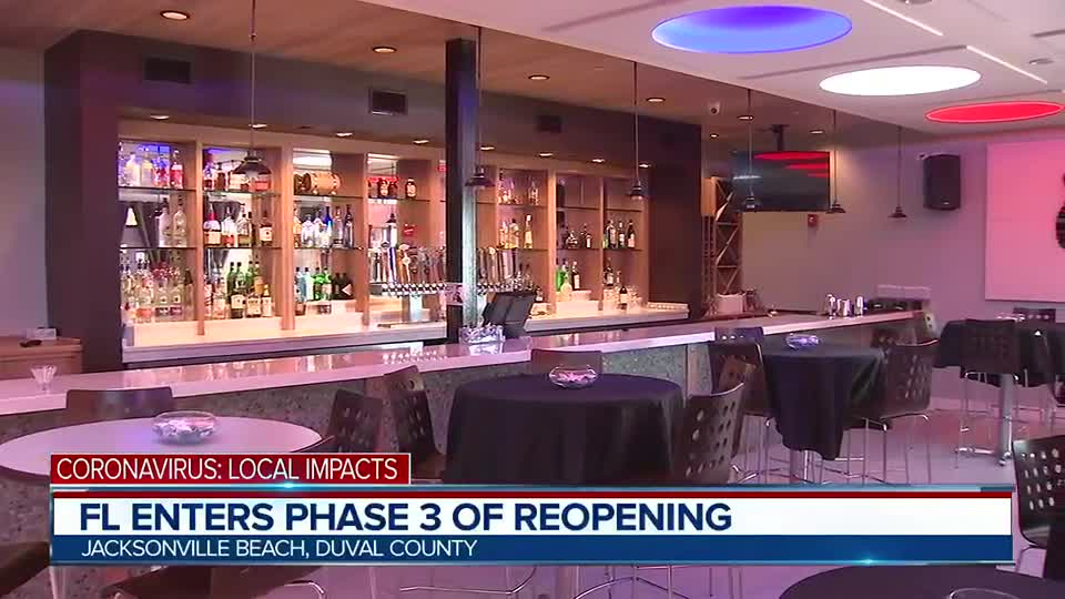 Phase 3: DeSantis lifts restriction on bars and restaurants