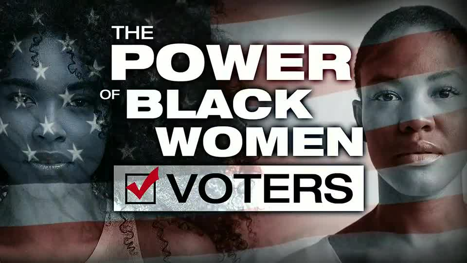 Power of bnlack women voters