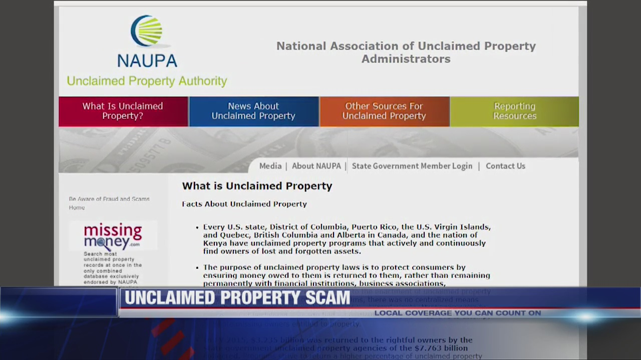 Bbb Unclaimed Property Scam May Look Legitimate But Don T Fall For It Fox13 News Memphis