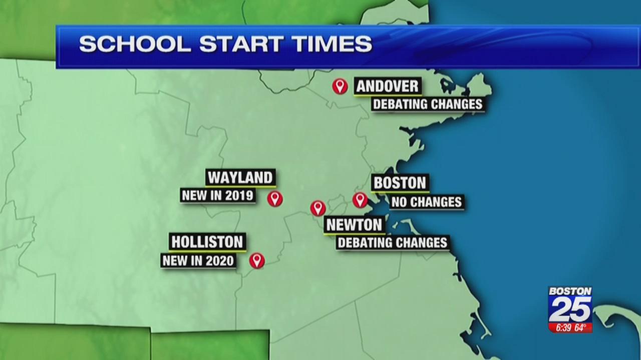 Kids Cheer, Parents Groan As Wayland Schools Change Start