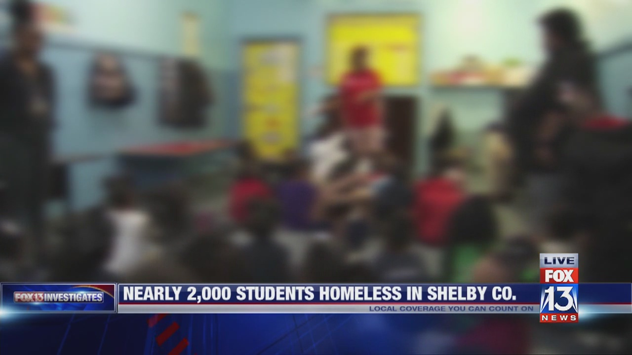 Number of homeless students in Shelby County on the rise
