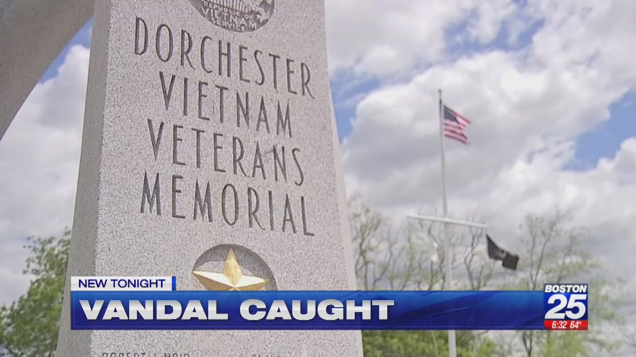 Police Identify Man Who Vandalized Vietnam War Memorial In Dorchester