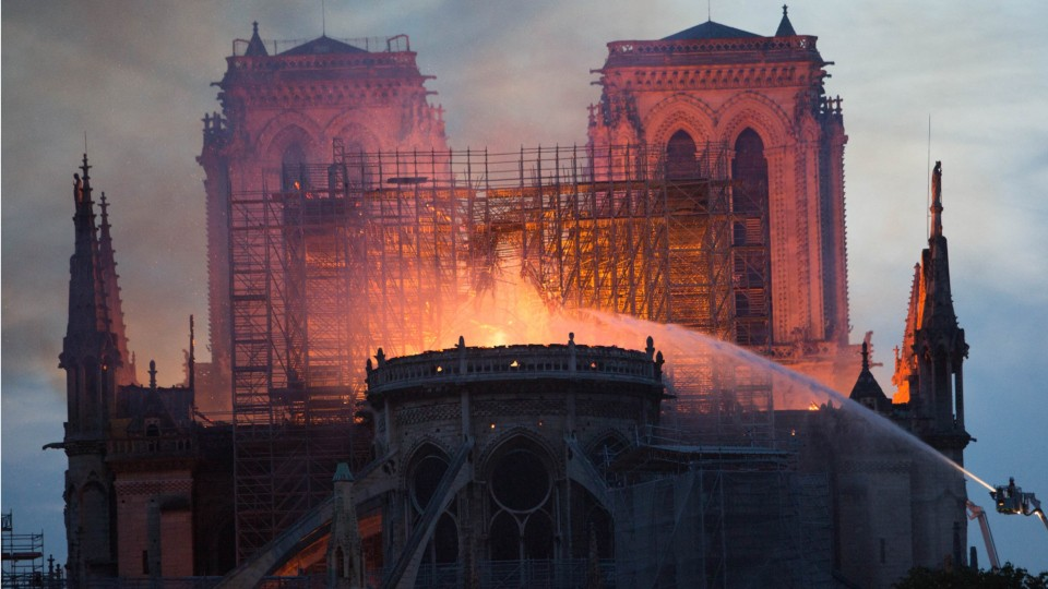Notre Dame Cathedral Fire Nearly 1 Billion Pledged For Restoration