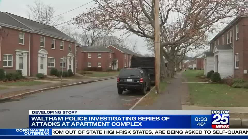 Waltham Police warning residents after 10th unprovoked assault in city, at apartment complex