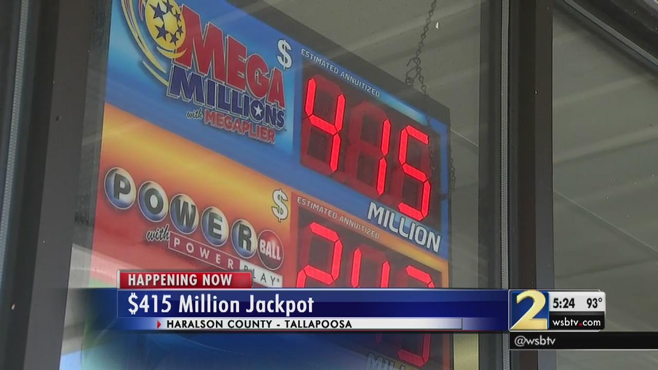 $415 Mega Millions jackpot numbers drawn