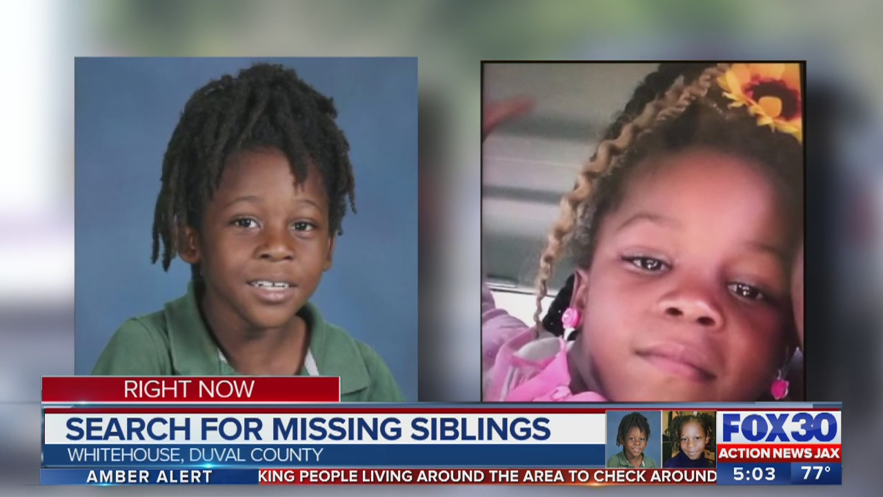 Missing Jacksonville Siblings Braxton And Bri Ya Williams Found Safe