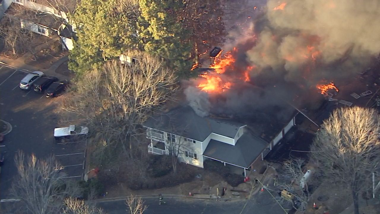 At Least Two People Injured After Explosion Rocks Atlanta Apartment Complex